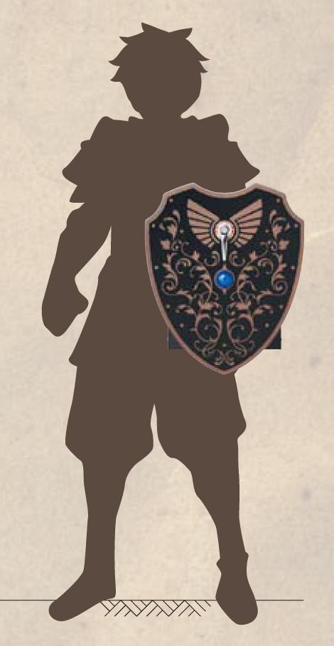 男前ポスト 伝説の盾 持ったイメージ