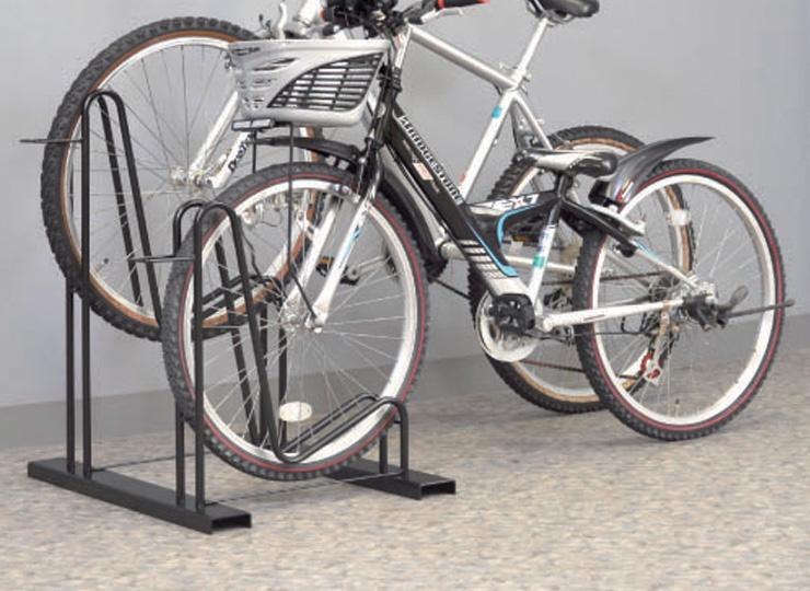 自転車スタンド 使用イメージ