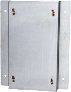 縦型ポスト壁面取付け用台座C