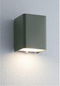 ポージィウォールライトUA0100122アイビーグレー電球色