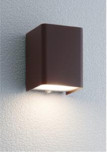 ポージィウォールライトUA0100152ラスティブラウン電球色