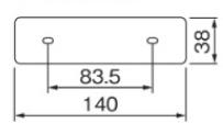 ポージィウォールライトUA0102 壁面接合部
