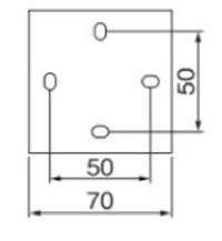 ポージィウォールライトUA01021 壁面接合部