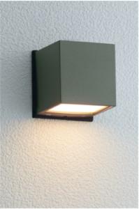 ポージィウォールライトUA0102122アイビーグレー電球色