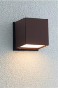 ポージィウォールライトUA0102152ラスティブラウン電球色