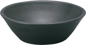 陶芸ポットセレススチールブラック