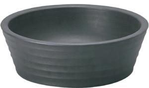 陶芸ポットラルゴスチールブラック