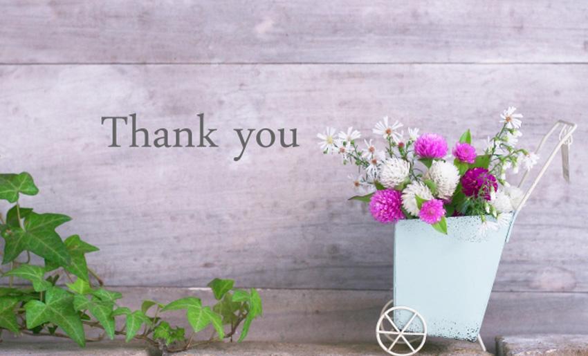 4月もありがとうございました