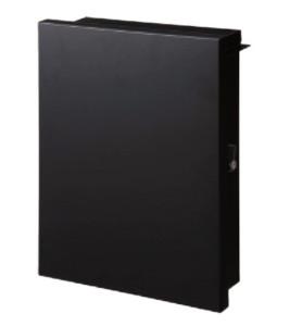 デザインポスト スムース ブラック