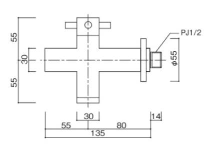ブライトフォーセットクロス 参考図面