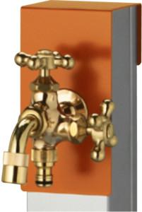 リーナアロンスタンドツイン蛇口セット上部蛇口標準装備