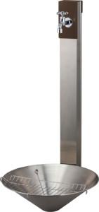 リーナアロン950スタンドシングル 蛇口1個セットチョコブラウンフィーノポット組み合わせ例