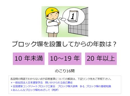 ブロック塀診断カルテ (2)