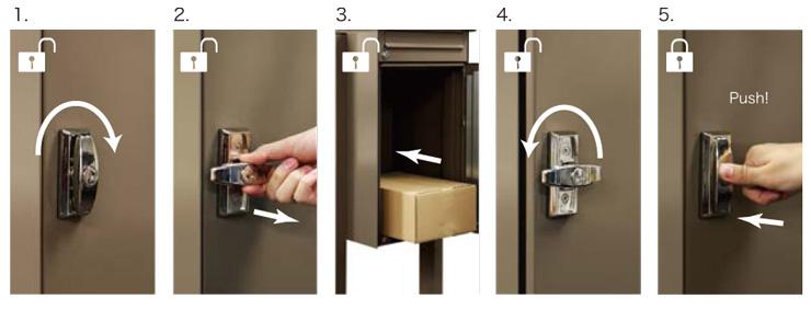 ノボックス 施錠方法