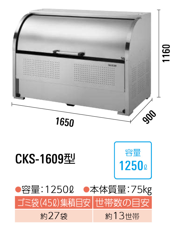 クリーンストッカーCKS-1609型