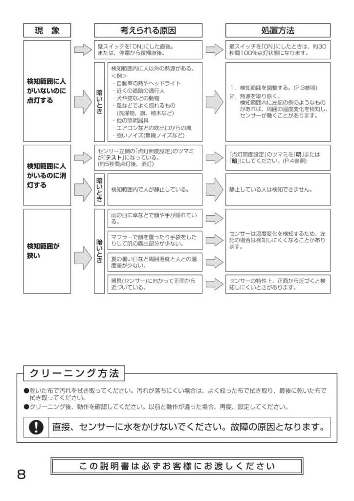 ポージィスポットライトUNDOL4670YS、YB_取扱説明書-14