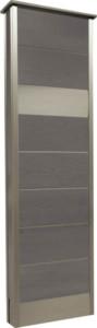 カーサDR450_450×1500SUS壁付けポストタイプストーンブラック