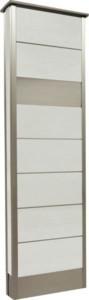 カーサDR450_450×1500SUS壁付けポストタイプストーンホワイト
