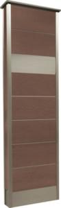 カーサDR450_450×1500SUS壁付けポストタイプダークブラウン