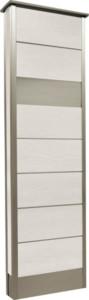 カーサDR450_450×1500SUS壁付けポストタイプホワイト