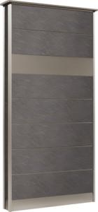 カーサDR750750×1550SUS壁付けポストタイプストーンブラック