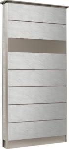 カーサDR750750×1550SUS壁付けポストタイプストーンホワイト