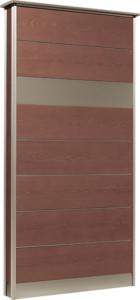 カーサDR750_750×1550SUS壁付けポストタイプダークブラウン