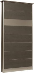 カーサDR750_750×1550SUS壁付けポストタイプブラック