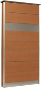 カーサDR750_750×1550SUS壁付けポストタイプライトブラウン