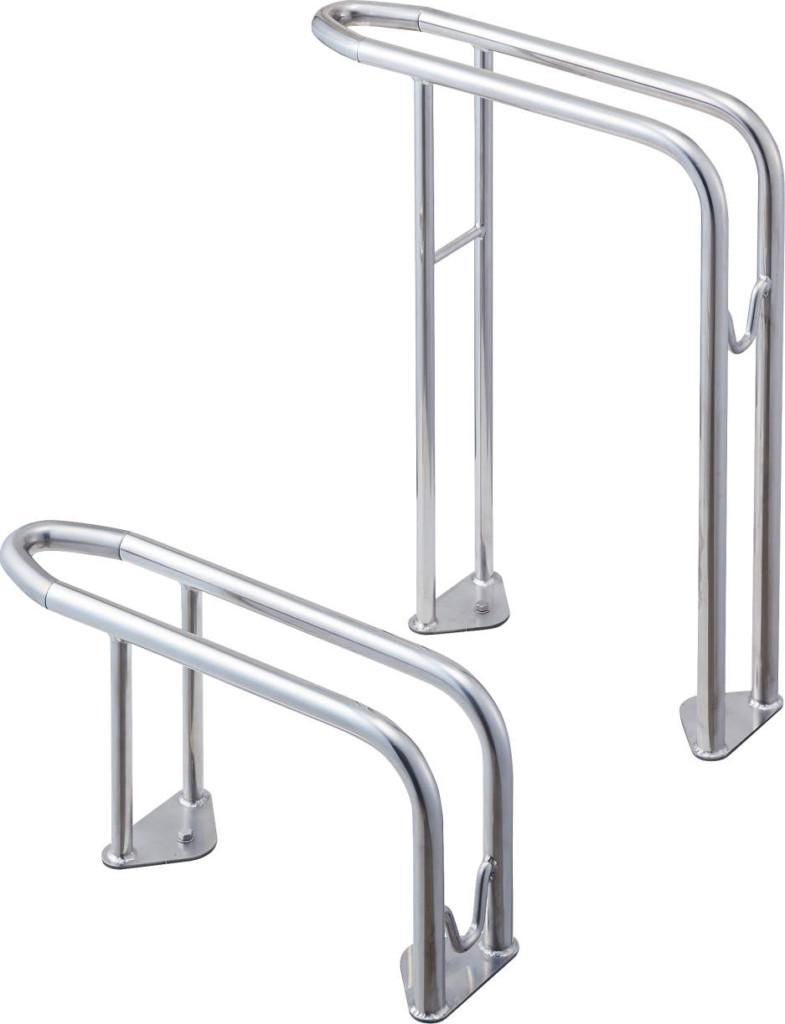 サイクルラックS5型 高低の組み合わせ