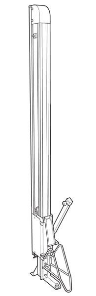 自転車ラック CF-B 全体図