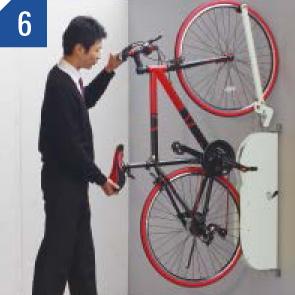 自転車ラックCF-AN 自転車を入れる場合 (6)
