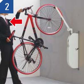 自転車ラックCF-AN 自転車を出す場合 (2)