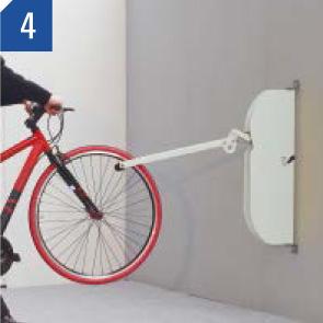 自転車ラックCF-AN 自転車を出す場合 (4)