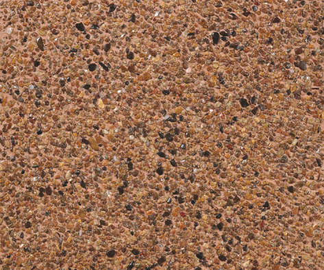 舗装用洗い出し基材 ブラウン(BR)+675/川石