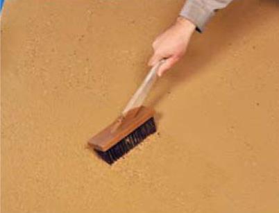 舗装用洗い出し基材3