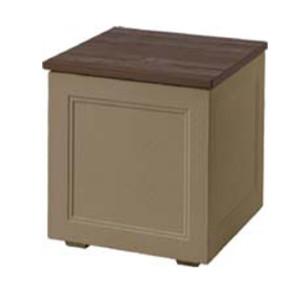 【トーシンコーポレーション】玄関先ベンチ・収納ボックス ブルックス400(BROOKS400)