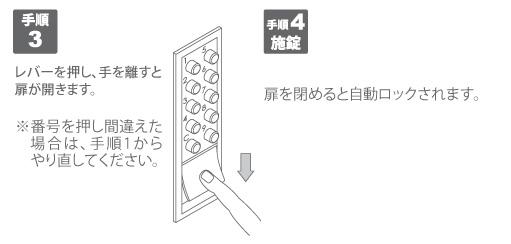 NAポスト 手順3・4