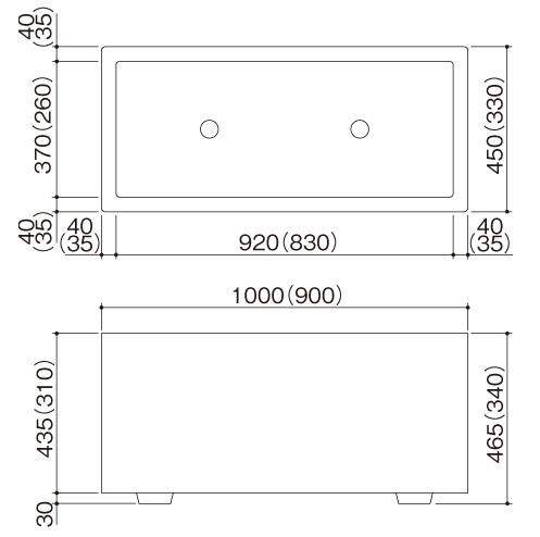 STCプランターGSタイプ サイズ