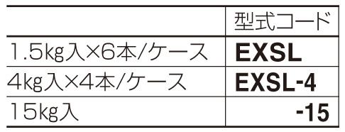 ex.シーラー 材料表